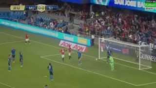 Video Gol Pertandingan Manchester United vs SJ Earthquakes