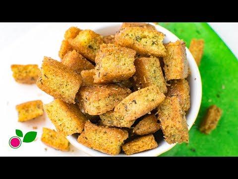 🥗 Low Carb Croutons   Gluten & Sugar Free   Yo +Green