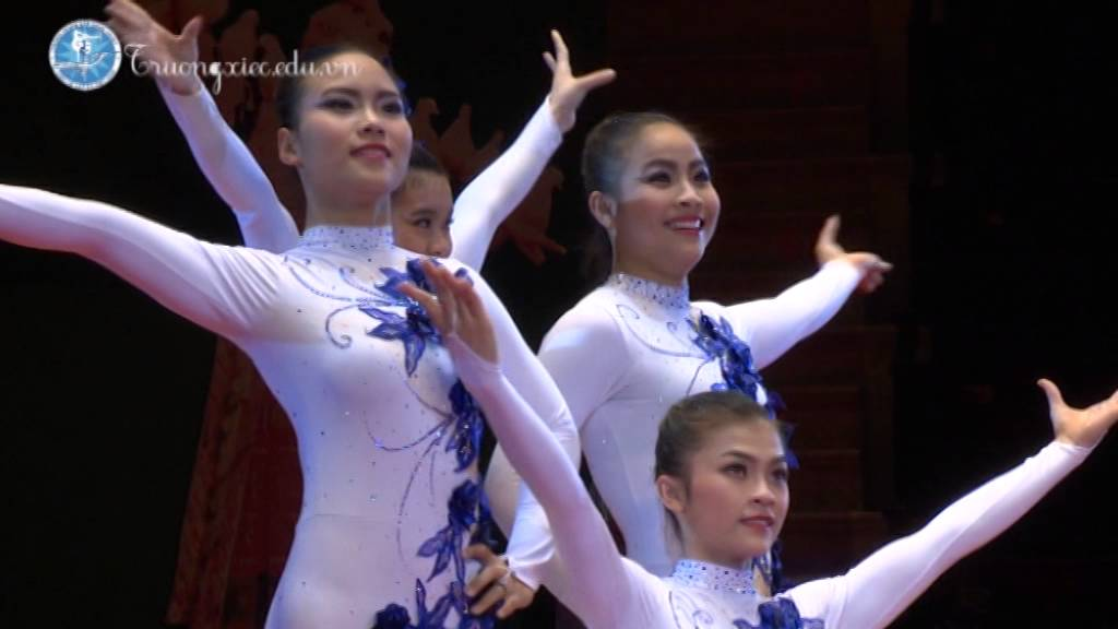 Các Tiết Mục Xiếc – (Trường TCNT Xiếc & Tạp kỹ Việt Nam)