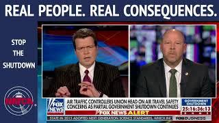 NATCA President Paul Rinaldi live on Fox News Channel (1/16/19)