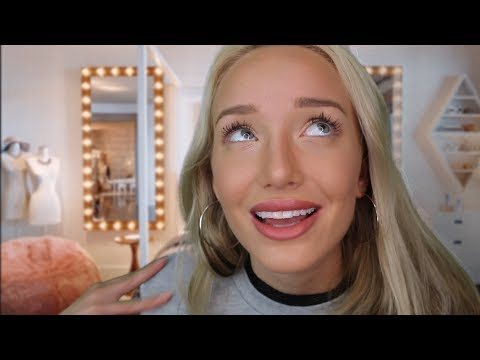 ASMR Bitchy Popular Girl - New Step Sis Roleplay (House rules & fixing your face) | GwenGwiz