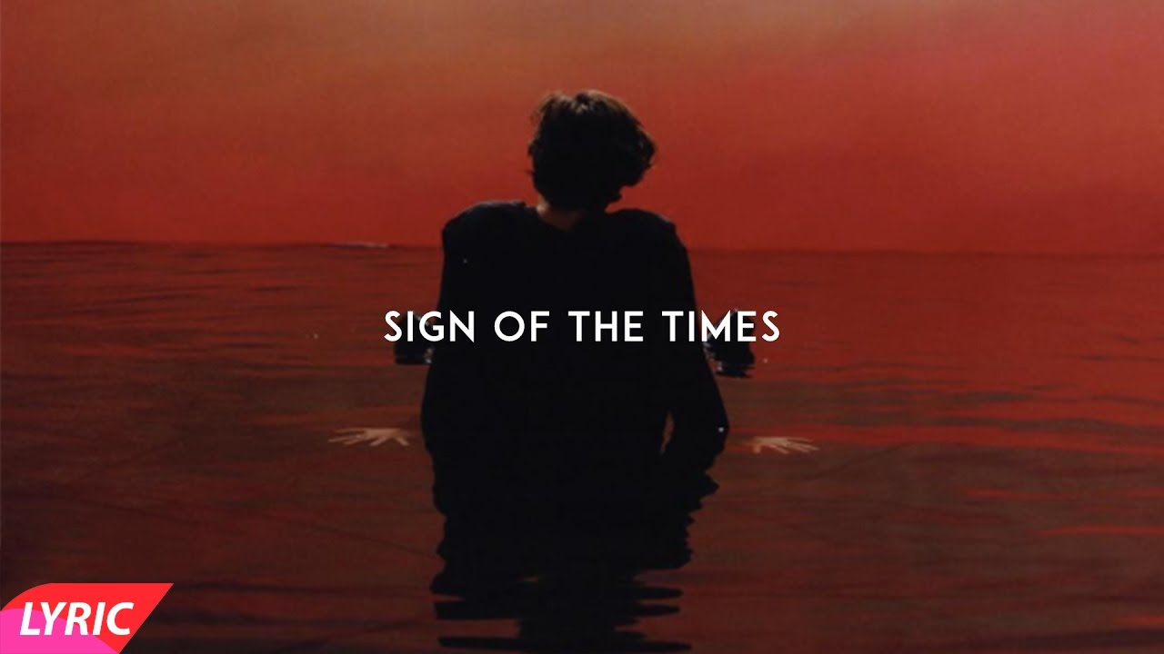 Sign Of Times >> Sign Of The Times Harry Styles Lyrics Youtube