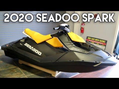 2020 Sea-Doo Spark Line-up Walk-around