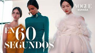 New York Fashion Week, en 60 segundos   VOGUE España