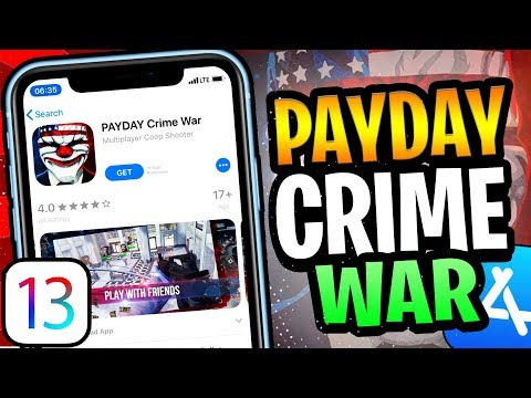 How To Download Payday Crime War IOS 13/12 IPhone IPad IPod NO JB/PC!