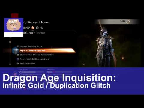 Dragon Age: Inquisition - Infinite Gold / Duplication Glitch!