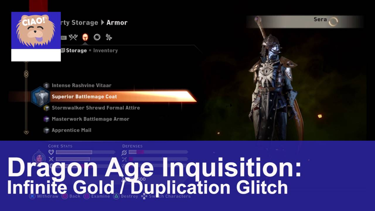 Dragon age inquisition multiplayer gold glitch summer shred steroid cycle