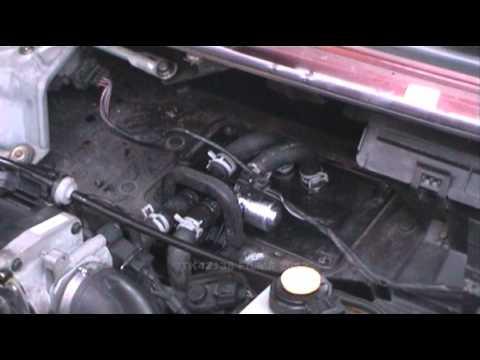Fitting new heater valve - YouTube