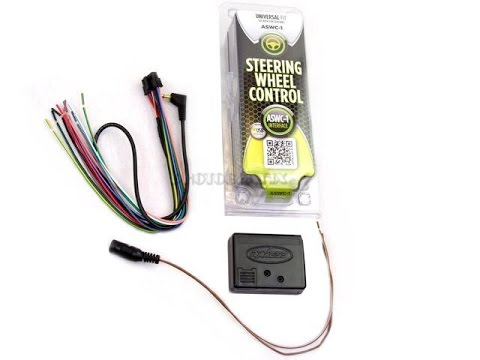 how to install steering wheel control metra aswc1