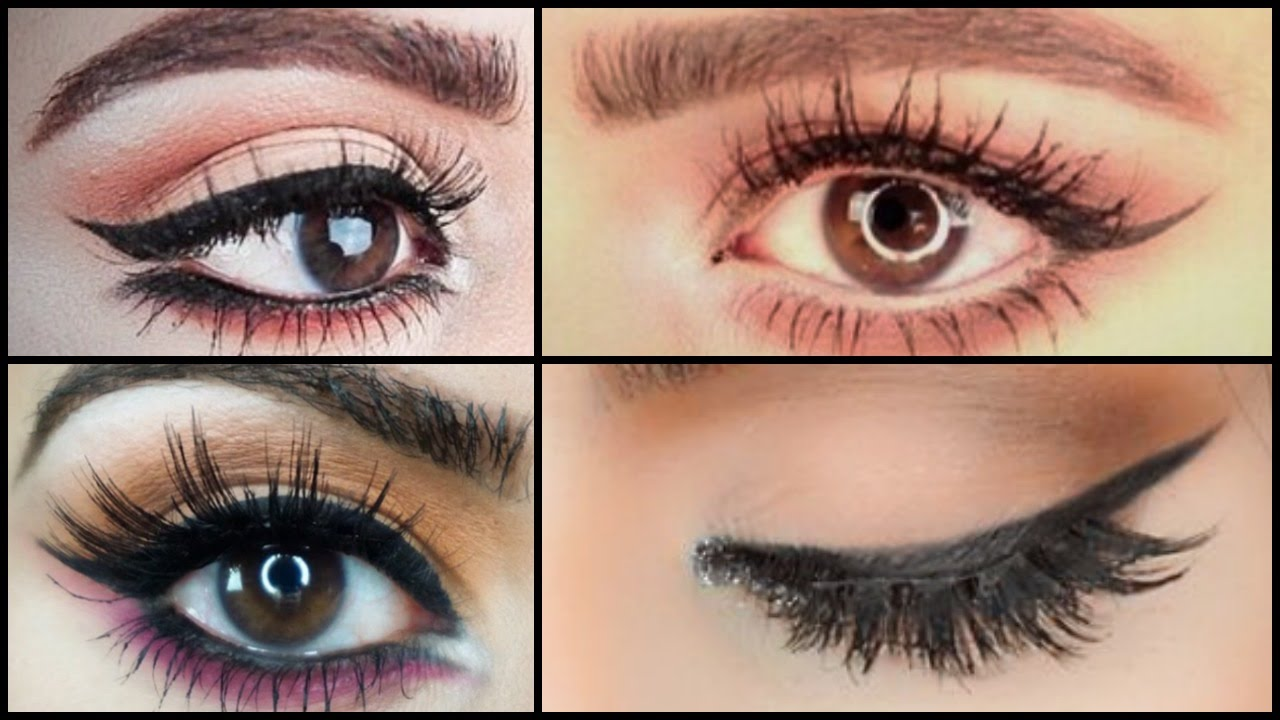 How To: Perfect Winged Liner For Hooded Eyes  Heavy Fold  Tips & Tricks   Narina Manukyan