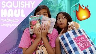 Squishy Haul! (Malaysia and Singapore)