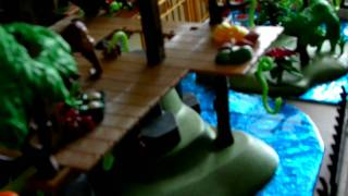 Bonniebeth's Playmobil Zoo Diorama