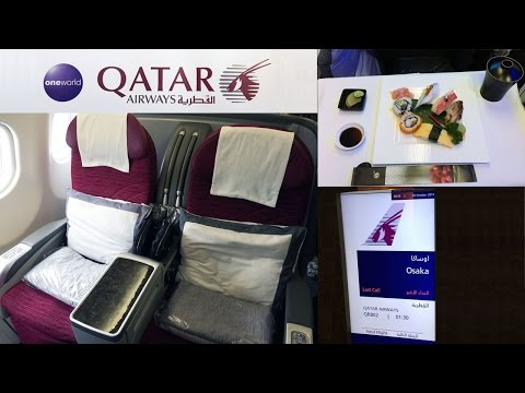 TRIP REPORT | Qatar Airways A330 | BUSINESS CLASS | Milan MXP ✈ Osaka KIX via Doha