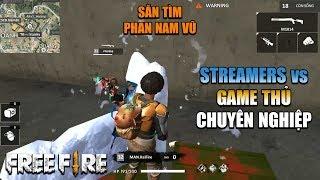 Free Fire | PNV, Lão Gió, Meow đối đầu tuyển thủ đấu giải - Streamers Đại Chiến | Rikaki Gaming