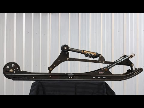 Lightest Flex Snowmobile Suspension Ever! Nextech Mono SL Flex!  PowerModz!