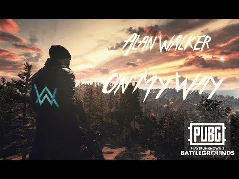Alan Walker - On My Way [PUBG Animation] #OMWchallenge