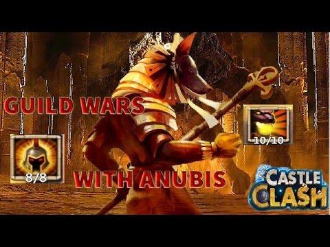 Castle Clash Guild Wars Anubis Is Amazing!