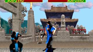 Mortal Kombat (1992): Sub-Zero gameplay