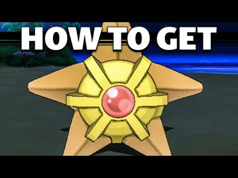 Staryu in Sun and Moon | HOW TO GET