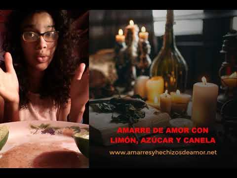 Amarre de Amor con Limón, Azúcar y Canela | Amarres de Amor Caseros Efectivos