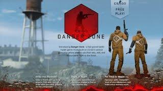 BATTLE ROYAL CS:GO - Danger Zone - SPRAWDZAMY NOWY TRYB - Na żywo