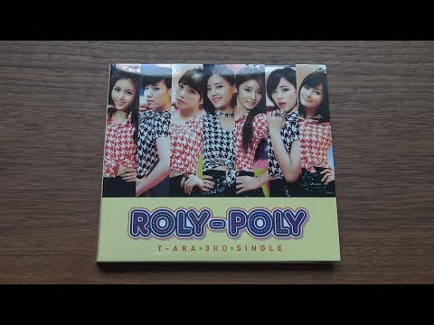 Unboxing T-ARA 3rd Japanese Single Album Roly-Poly [Limited Edition B]