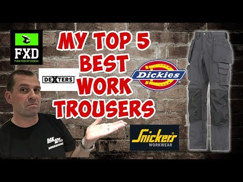 My Top 5 Work Trousers Reviewed in 2017