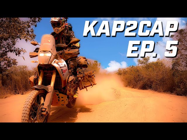 Kap2Cap Ép.5  ► Du rififi en Guinée ► 26.000 km en Ténéré 700