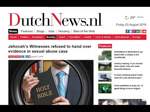 Jehovah's Witnesses refused to hand over evidence in sexual abuse case  - JW.org