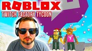DEN BEDSTE STREAMER!! - Roblox Twitch Factory Tycoon Dansk med DME