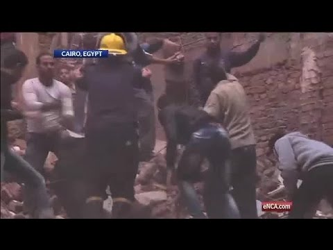 Several killed in Egypt building collapse