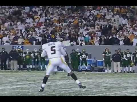 WVU Pat White's Last Game in Morgantown Highlights vs South Florida(2008)