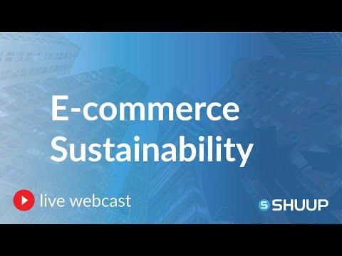 E-commerce Sustainability