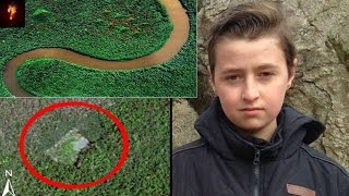 Boy Finds Lost Mayan Pyramids In Jungle