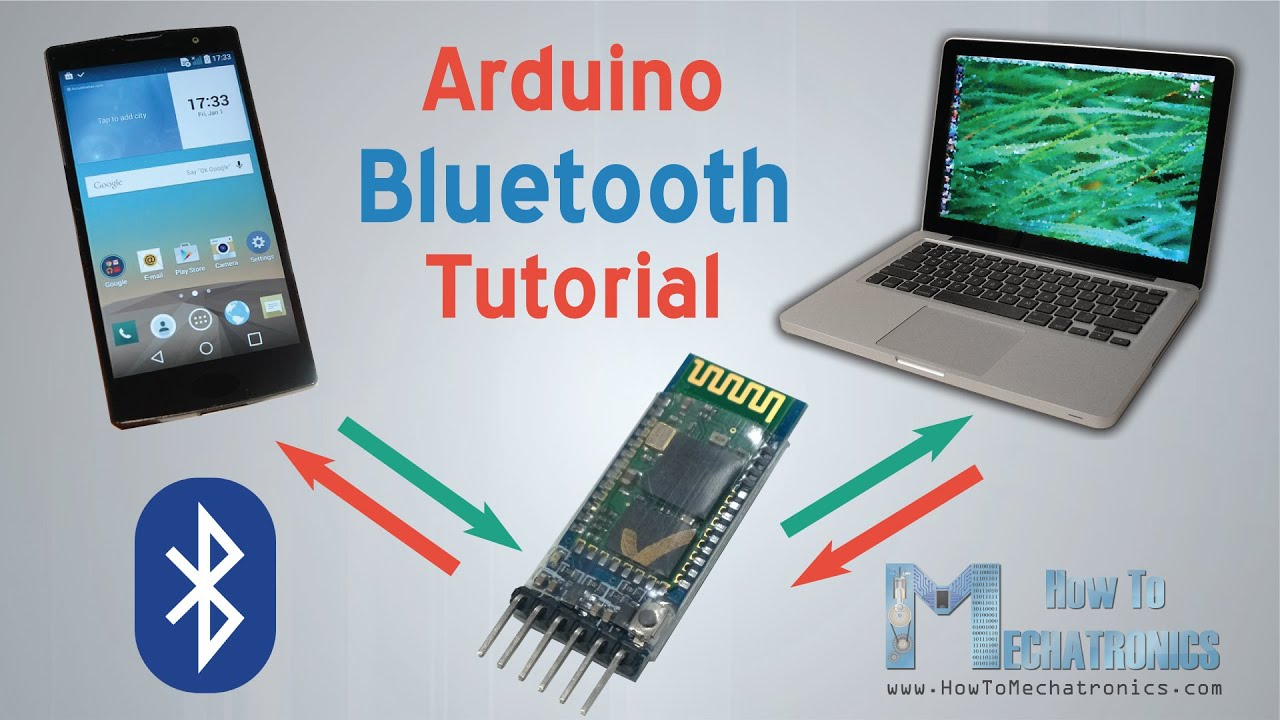 Arduino and hc bluetooth module tutorial android