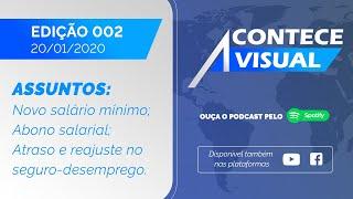 Acontece Visual - Edição 002 - (20/01/2020)