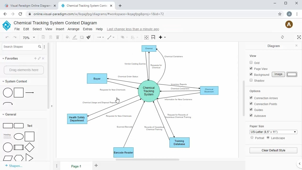 Create System Context Diagram Online Youtube