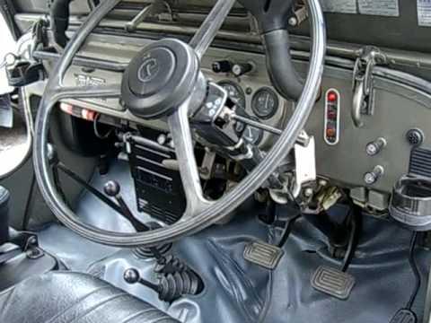 Mitsubishi Jeep J54 Diesel Walk Around - YouTube