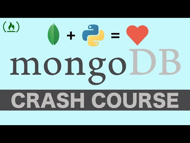 MongoDB with Python Crash Course - Tutorial for Beginners