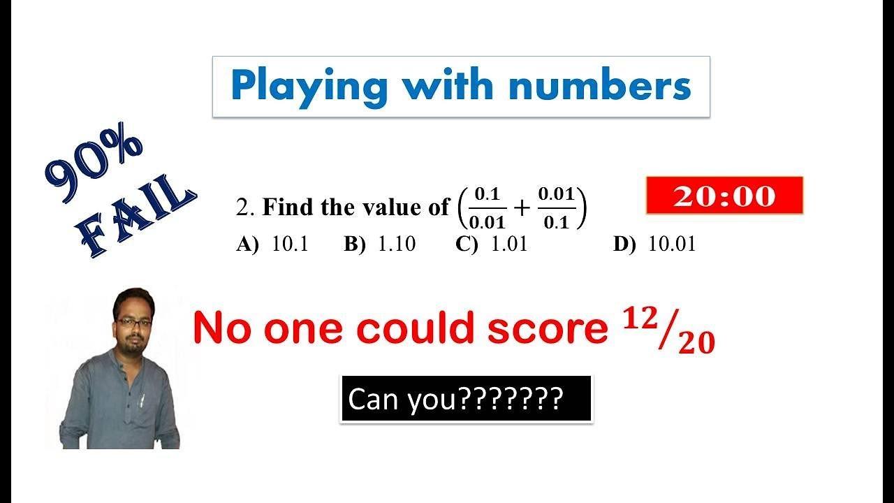 Simple Math Test 90 Fail Can You Pass 8th Grade Math 90