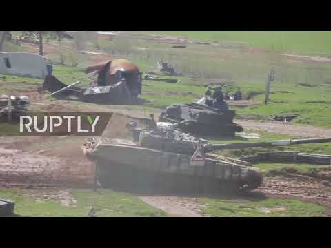 Belarus: Tank Biathlon in full throttle in Minsk Region