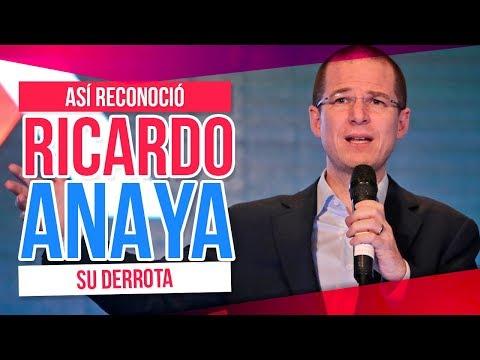 Ricardo Anaya reconoce su derrota, pero le dijo esto a AMLO   Destino 2018