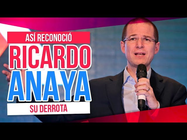 Ricardo Anaya reconoce su derrota, pero le dijo esto a AMLO | Destino 2018