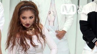 4minute Crazy Nam Ji-Hyun Focus Fancam @Mnet MCOUNTDOWN Rehearsal_F...
