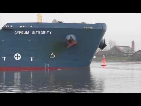 Gypsum Integrity  auf der Weser