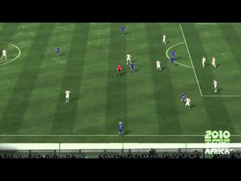 Amanatidis Ripped The Net Fifa World Cup 2010