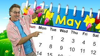 It's the Month of May | Calendar Song for Kids | Jack Hartmann