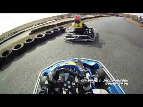 Gokart-GP, Round 1 - 2013, Heat 2, Holbæk Gokartland