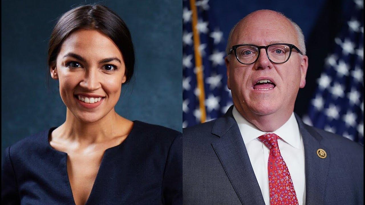 Alexandria Ocasio-Cortez se enfrentó a Joe Crowley en las primarias demócratas del 2018.