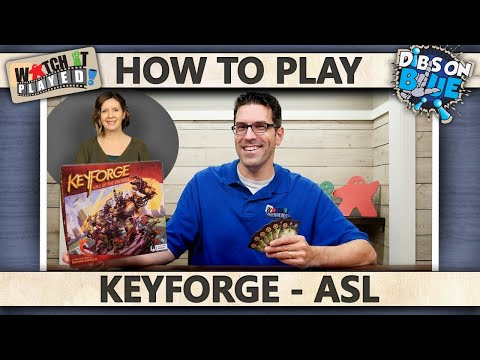 KeyForge - WITH ASL - How To Play